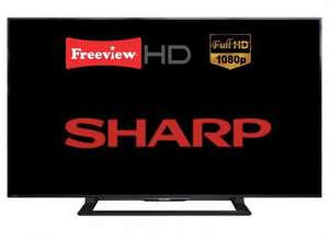 "SHARP AQUOS 40"" FULL HD LED TV - £179 or £90 CLUBCARD BOOST @ TESCO"