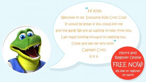 FREE kids activity pack & registration for pontins