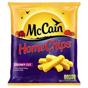 Mccain Extra Chunky Home Chips 1Kg half price £1.30 @ Tesco
