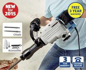 1700w Demolition Breaker - 3 Year Warranty - £99.99 Instore Aldi from Sunday 23 Aug