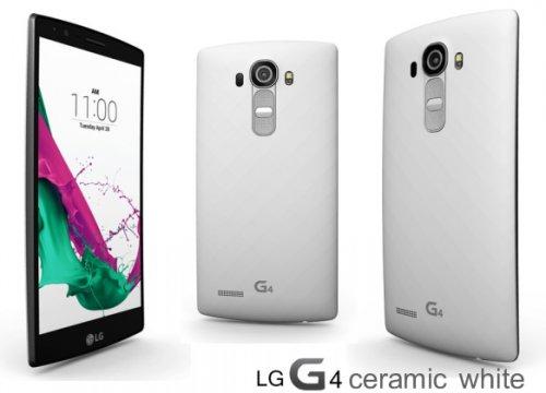 LG G4 (32GB, White) with Code £326.02 @ Rakuten/Expansys
