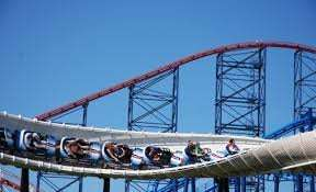 Kids go free blackpool pleasure beach. 2 x Adults & 2 x Children - £60