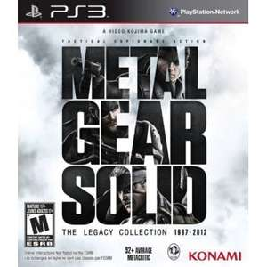 Metal Gear Solid Legacy Edition (PS3) - £17 (inc delivery) - Play-Asia
