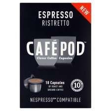 Nespresso Cafepod 2(20 capsules) for £4 @ Tesco