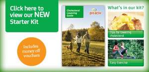 Free Flora pro.activ Cholesterol Lowering Kit including Flora coupons - Download or order by post