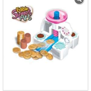edible chocolate coin maker £8 asda instore £15 online