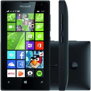 Microsoft Lumia 435 (Unlocked + 2,000 Minutes, Unlimited Texts and 4GB Data) £45 at Asda