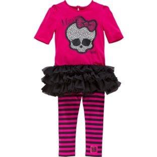 Monster High Girls' Dress and Leggings Set, Ages 7-8, 9-10, 11-12 Better Than Half Price £4.29 @ Argos Instore