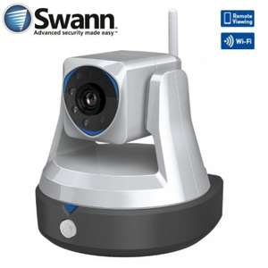 Swann Cloud HD ADS-446 720P Pan & Tilt Wi-Fi IP Security Camera With Remote Viewing £49.95 @ Amazon sold by iZilla