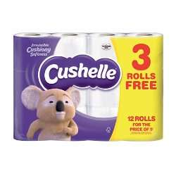Cushelle Toilet Rolls 12 pack for £4 @ Iceland