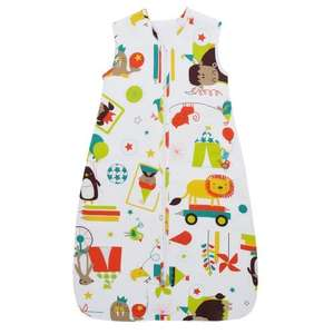 Grobag Carnival 2.5 Tog Travel Baby Sleep Bag (6-18 Months) £15.00 (Prime) £19.75 (Non Prime) @ Amazon