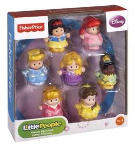 Fisher Price Little People Disney Princess figure pack £10 @ Boots (Instore)