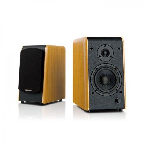 Microlab B77 2.0 Bookshelf Speakers, 48W RMS - £26.93 (used very good) @ Amazon Warehouse Deals