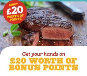 Two Vists for 1 to Beefeater Grill Potentially FREE via BONUS POINTS