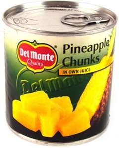 Del Monte Pineapple Chunks in juice (435g) 10p @ B&M Instore