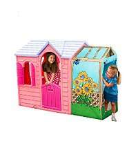 Little Tikes Princess or Evergreen Garden Cottage Playhouse, £99 at ELC