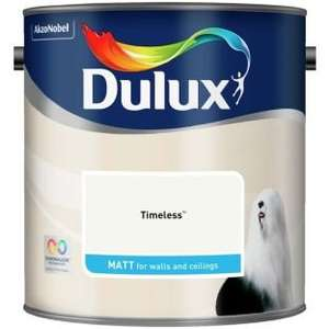 Dulux Paint Buy one get one half price (£23.98 for two 2.5l Tins) £15.99 @ Argos C&C