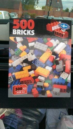 500pc Bricks (Like Lego) £1.49 @ b&m