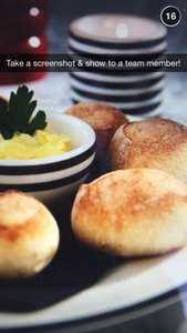Completely free dough balls all day today at all pizza express to take away just show image