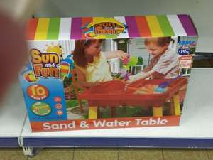 Sand and Water Table £4 B&M Bargains Instore