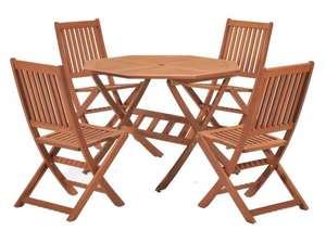 5 piece ScanCom Cotswold outdoor dining set £88.57 @ Amazon