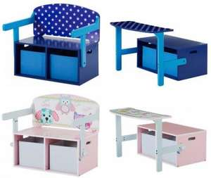 Kids convertible desk/chair £14.99 @ Argos