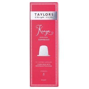 Nespresso Taylors £2 for 10 pods @ Waitrose