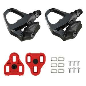 Exustar EPR16 Pedals 2015 with Cleats - Look Keo Compatible EPS-R SPD ROAD PEDALS £14.99 @ Buy a Bike