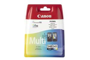 Canon PG-540/CL-541 Ink Cartridge (Pack of 2) £14.53 (prime) £18.52 (non prime) @ Amazon
