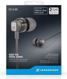 Sennheiser CX 3.00 In-Ear canal Headphones £25.00 @ Amazon