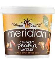 Meridian Peanut Butter 2 x 1kg £8.13 delivered (+ possible £6.56 cashback for new customers) @ Discount Supplements