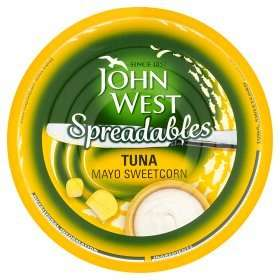 Free John West Tuna Spreadables using printable coupon