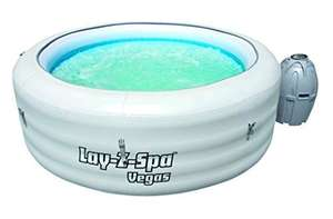 Lay-Z-Spa Vegas Series Portable Inflatable Hot Tub £137.29 @ Amazon/Garden Essentials