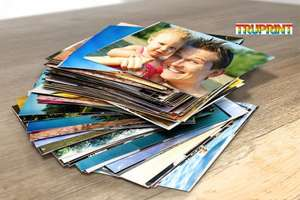 "300 6"" x 4"" Photo Prints £3 + £1.99 postage instead of £24 (from Truprint) for 300 6"" x 4"" photo prints WOWCHER"