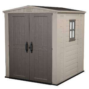 Keter 6 ft x 6 ft Factor Garden Shed £294.45 delivered at Amazon