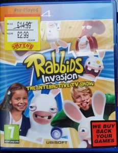 (Pre-Raved) Rabbids Invasion The Interactive TV Show PS4 £2.99 Instore @ Smyths (Swansea)