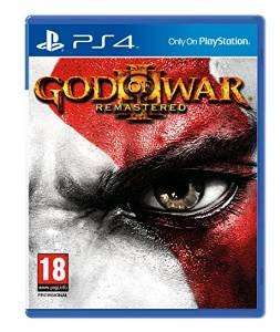 God Of War 3 Remastered PS4 £19.79 @ Amore DVD and Fulfilled by Amazon.