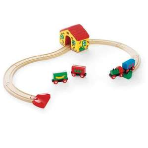 all brio train sets half price instore at argos