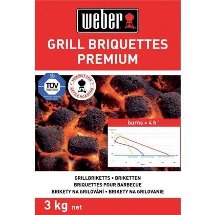 Weber Briquettes £3.93 for 6kg (BOGOF) @ Homebase