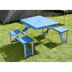 Folding Picnic Table 4 Seater £9.99 @ B&M Bargains