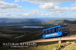 £10 instead of up to £23 for two tickets to ride the UK's highest funicular railway at CairnGorm Mountain from Itison