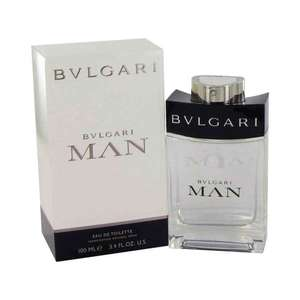 Bulgari Man Eau De Toilette Spray for Him 100ml - £24.18 @ Fragrance New York and Fulfilled by Amazon