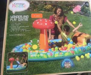 wonderland play center - Kids paddling pool/ball pool £3.75 @ Asda