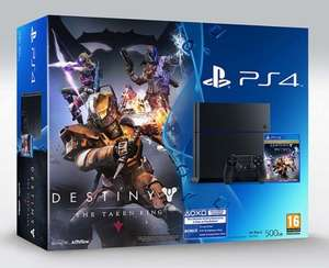 Playstation 4 Destiny: The Taken King Bundle £281.97 (Gamestop)