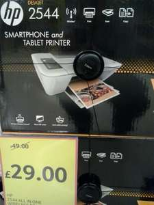 HP 2544 Wireless All-in-one Colour Inkjet Printer £29 Tesco, in store and online