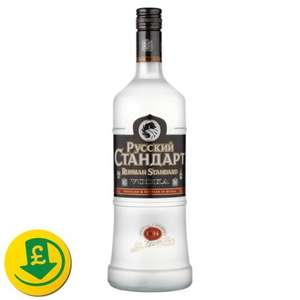 Russian Standard Vodka 1L £15 @ Morrisons - National