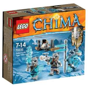 Lego Chima Saber Tooth Tribe Pack £3 @ Tesco