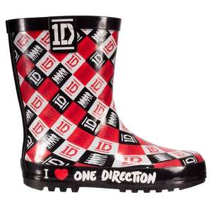 1D Check Welly £3.99 @ Redfoot Shoes