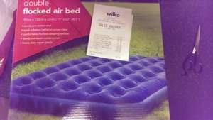 Wilkinson Double Flocked Air Bed - £8 instore