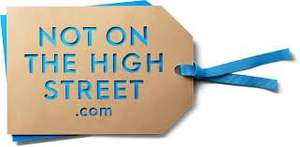 Free delivery on everything at Not on the High Street